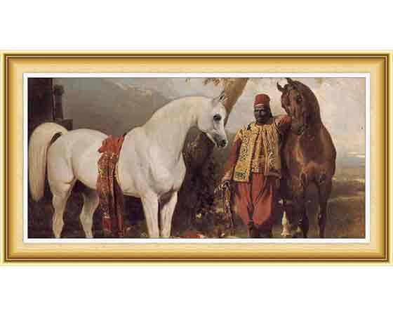 Alfred de Dreux hayatı ve eserleri