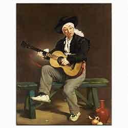 Edouard Manet, Ispanyol şarkıcısı, 1860