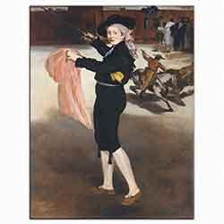 Edouard Manet, Mille Victorine, 1862