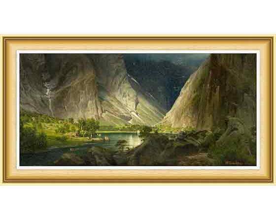 Johan Fredrik Eckersberg, hayat ve eserleri