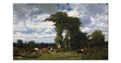 Jules Dupre, Sığırlar ile Manzara