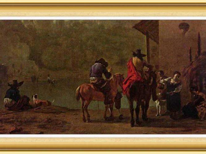 Karel Dujardin hayatı ve eserleri