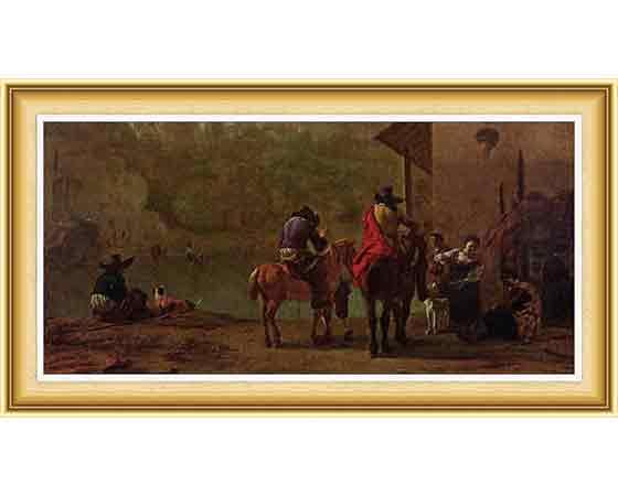 Karel Dujardin, hayatı ve eserleri