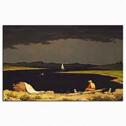 Martin Johnson Heade, Yaklaşan Fırtına, 1859