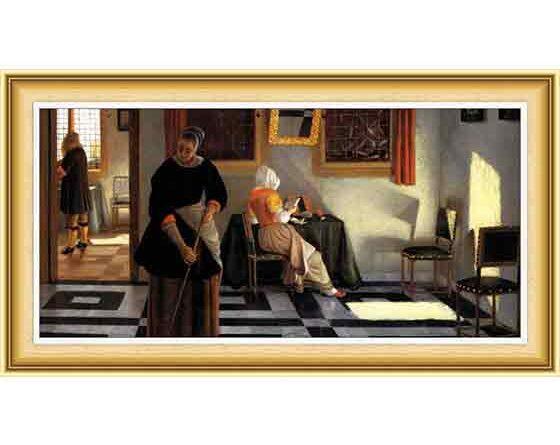 Pieter Janssens Elinga hayatı ve eserleri