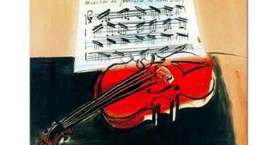 Raoul Dufy Notalar ve Keman