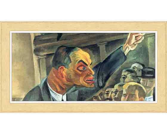 Conrad Felixmüller hayatı ve eserleri