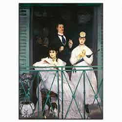 Edouard Manet, Balkon, 1869