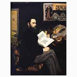 Edouard Manet, Emile Zola'nın Portresi, 1868