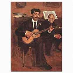 Edouard Manet, Gitarist, 1869