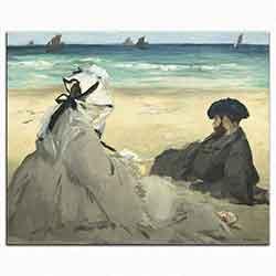 Edouard Manet Kumsalda