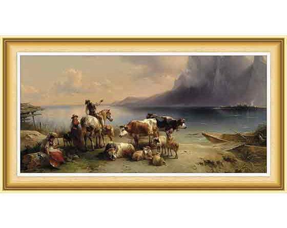 Friedrich Gauermann hayatı ve eserleri