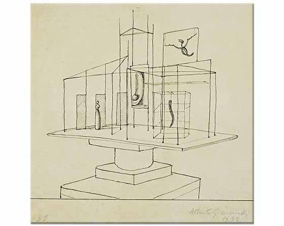 Alberto Giacometti Saray İçin Etüd