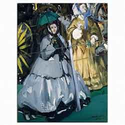 Edouard Manet Yarış Seyircileri