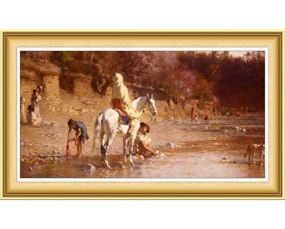 Gustave Achille Guillaumet Hayatı ve Eserleri