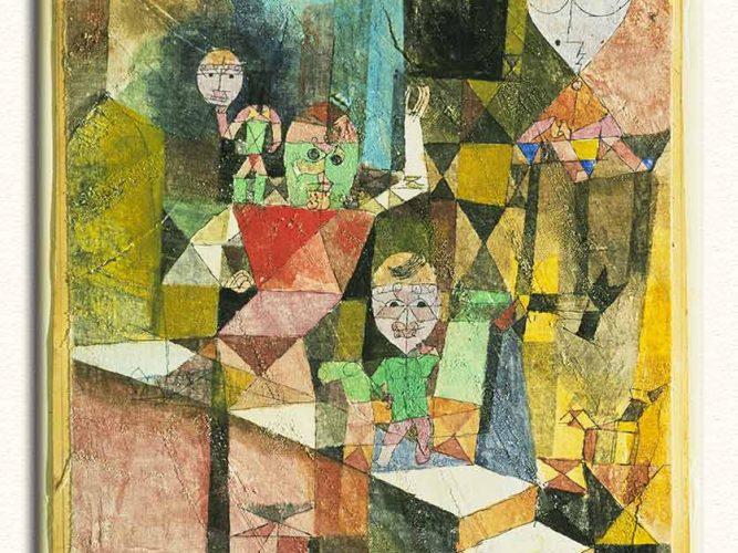 Paul Klee Mucizenin Sunumu