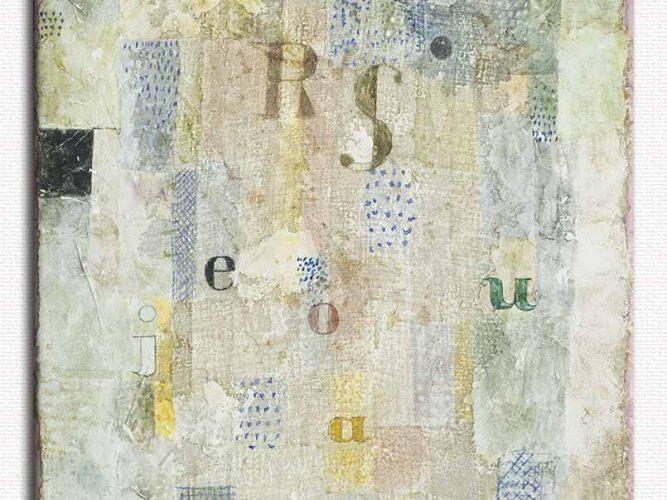 Paul Klee şarkıcı Rosa Silber'in ses rengi