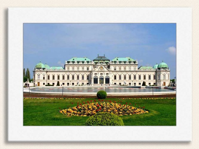 Belvedere Sarayı Viyana Avusturya