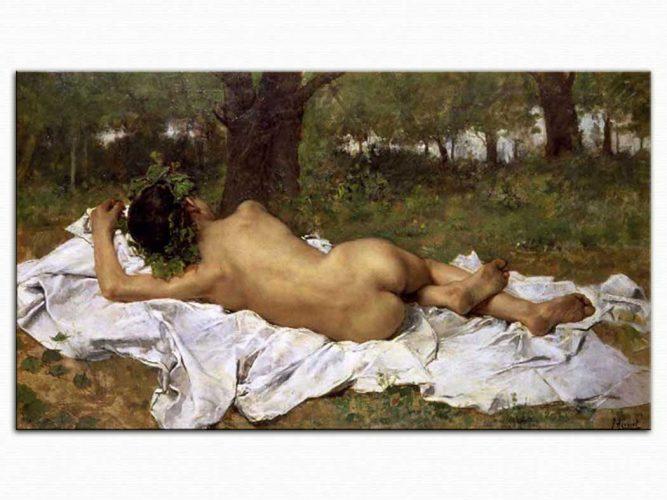 Juan Agrasot Baküs Dinlenirken
