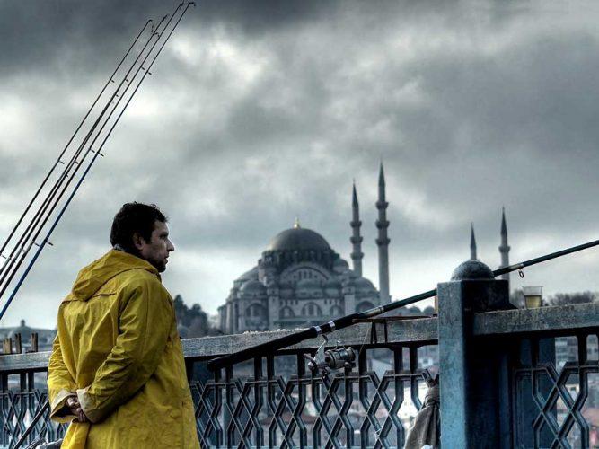 Osman Karamehmetoğlu Köprüdeki Balıkçı