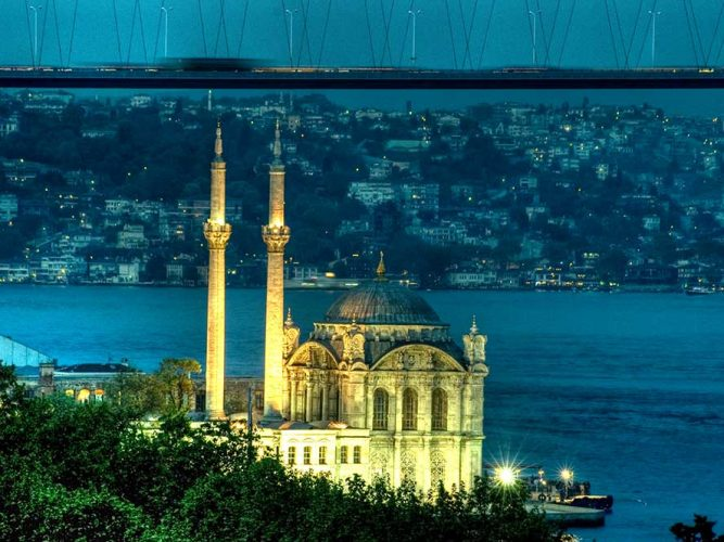 Osman Karamehmetoğlu Dolmabahçe Cami