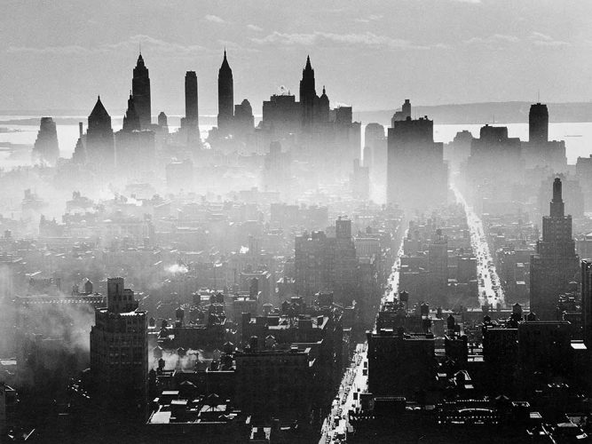 Andreas Feininger Manhattan New York