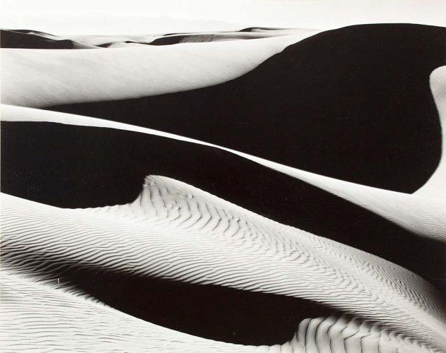 Edward Weston çölde kumlar