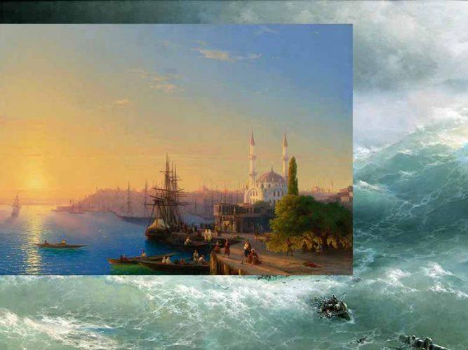 En güzel 10 Aivazovsky tablosu