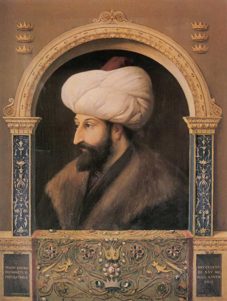 Fausto Zonaro Fatih Sultan Mehmet Portresi