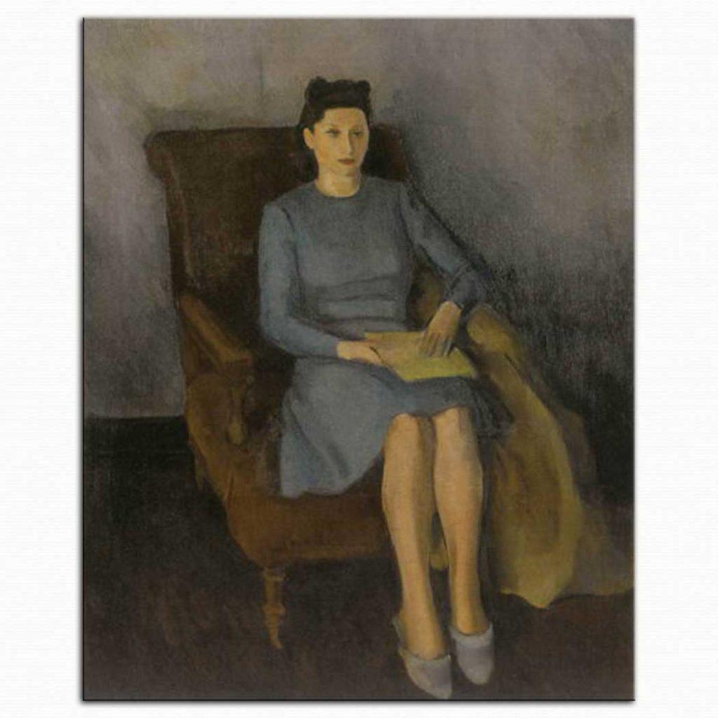 Hakkı Anlı Kadın Portresi