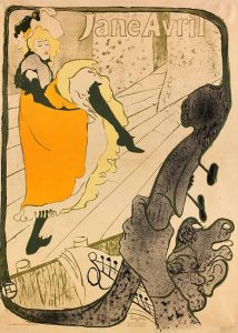Toulouse Lautrec Jane Avril