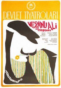 Mengü Ertel, Keşanlı Ali Destanı Afişi