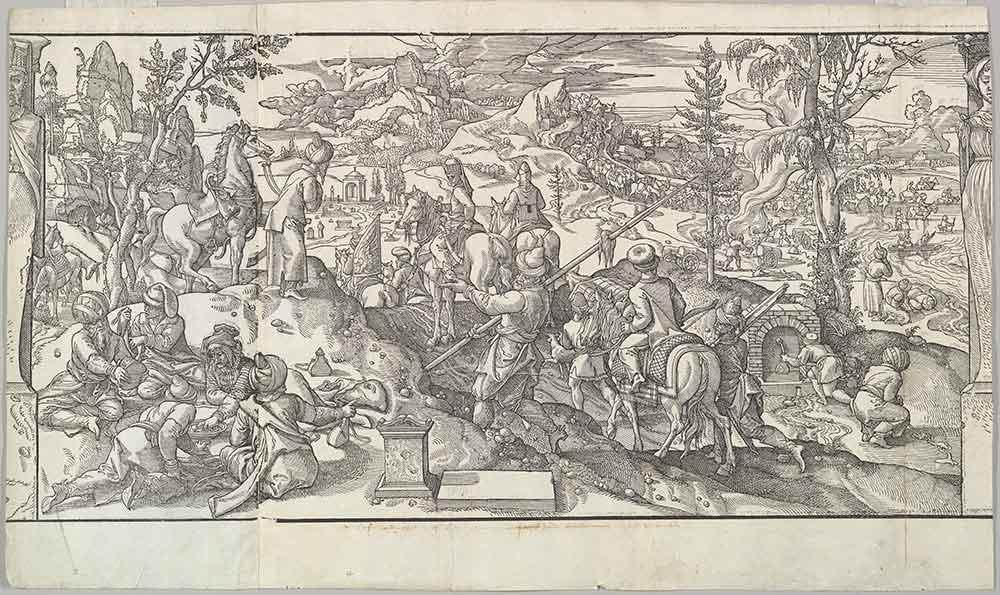 Pieter Coecke van Aelst Türklerde Yemek Adabı