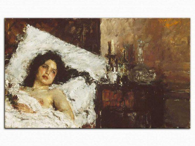 Antonio Mancini Dinlenme