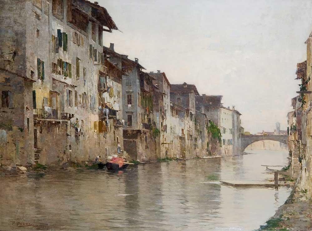 Bartolomeo Bezzi Durgun Su Venedik
