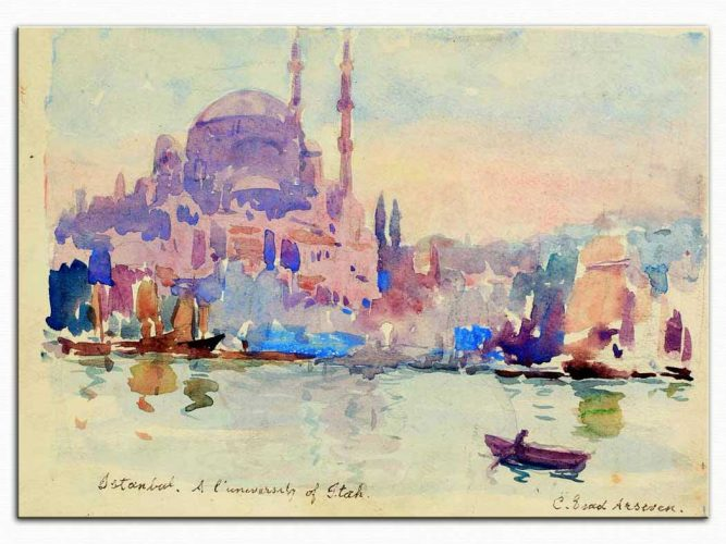 Celal Esad Arseven Istanbul Manzarası