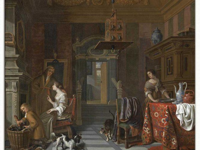 Cornelis de Man eviçinden görünüm