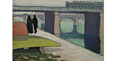 Emile Bernard Asnieres'de Demir Köprü