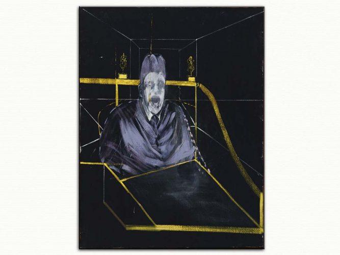 Francis Bacon yedi numaralı portre etüdü