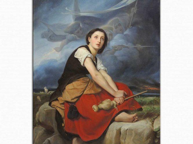 Francois Leon Benouville Jeanne d'Arc