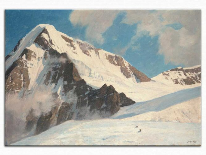 Georg Macco Jungfrau Tepesi