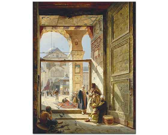Gustav Bauernfeind Emevi Cami Şam