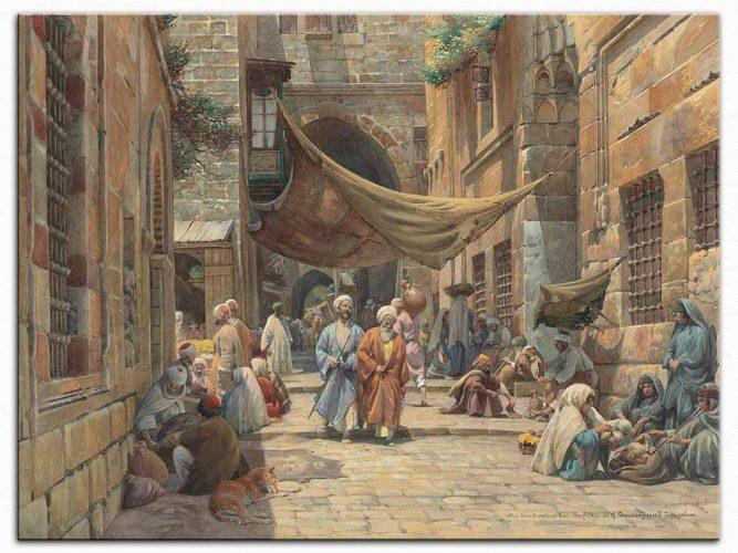 Gustav Bauernfeind Kral Davud Caddesi Kudüs