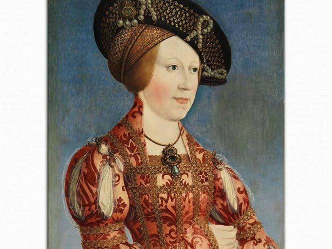 Hans Maler Kraliçe Anne'nin Portresi