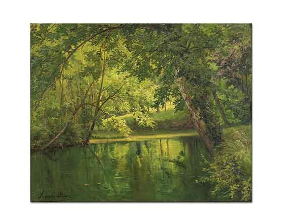 Henri Biva Ormandaki Göl