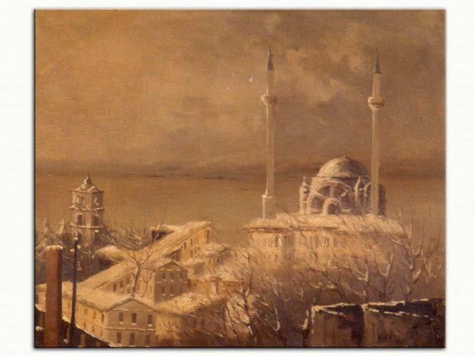 Kadri Aytolon Kar Altında İstanbul
