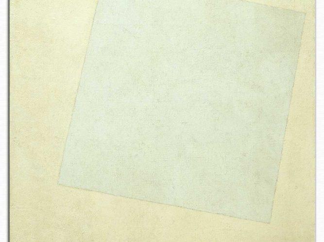 Kazimir Malevich Beyaza Beyaz Suprematist Kompozisyon