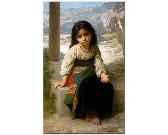 William Adolphe Bouguereau Küçük Şirin Kız