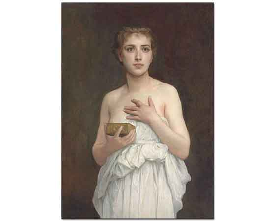 William Adolphe Bouguereau Pandore