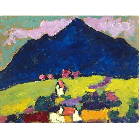 Alexei von Jawlensky Dağ Manzarası